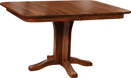 $675 as displayed in our showroom 36in Round Solid Top (no leaves) Oak in OCS117 Asbury Stain