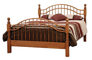 four poster bed custom beds king size headboard and frame poster bed frame Amish furniture Pittsburgh queen bed king bed california king bed wooden bed
