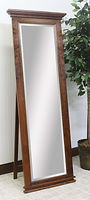 Brooklyn Leaner Mirror with Support|Rustic Cherry in Boston OCS111|24in W x 13 1/2in D x 70 1/2in H|The Amish Home|Hardwood Furniture at the Pittsburgh Mills