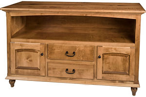 Sunbury Server | Brown Maple in Fruitwood OCS102 | 52in W x 19in D x 36in H | The Amish Home | Amish Furniture at the Pittsburgh Mills