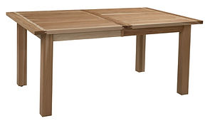 Fiona Plank Dining Table with breadboard ends | Hickory in Natural OCS100 | Many Sizes Available | The Amish Home | Amish Furniture at the Pittsburgh Mills