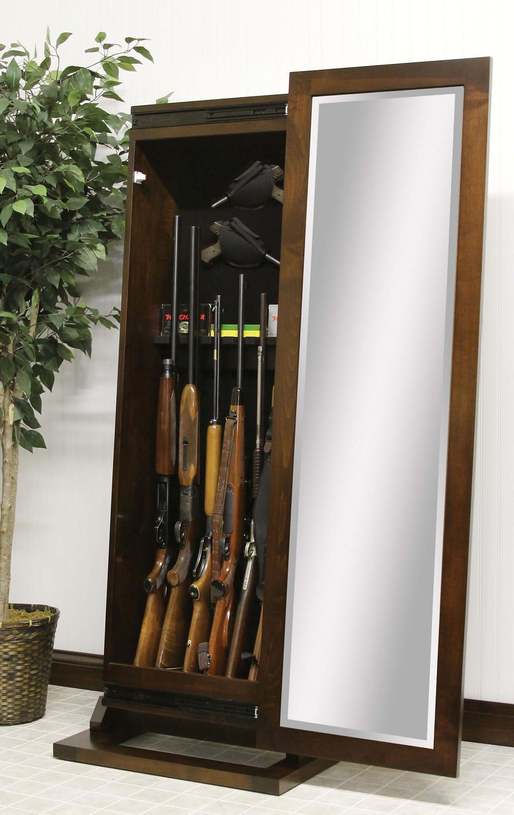Shaker Rifle Leaner Mirror