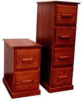 Country Home Lateral File Cabinet with 2 Drawers|Oak in Medium OCS110|29in W x 17in D x 30in H|The Amish Home|Amish Furniture at the Pittsburgh Mills
