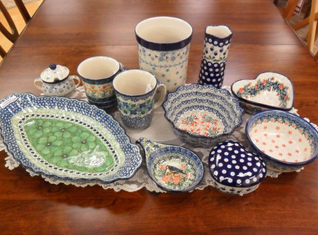 Handpainted Pottery Gifts