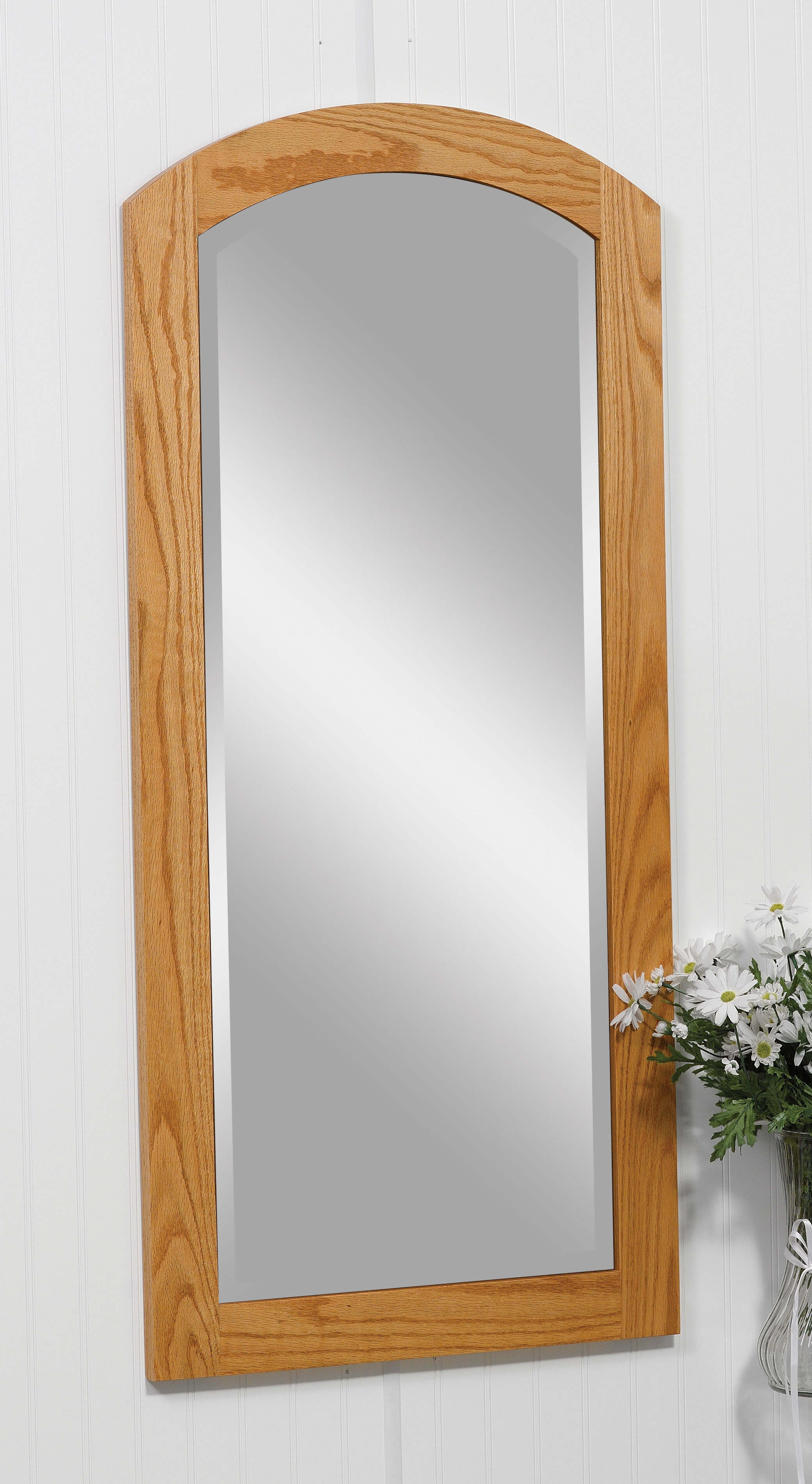 Antique Shaker Wall Mirror