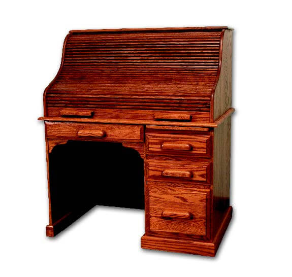 Country Home 43in Roll Top Desk