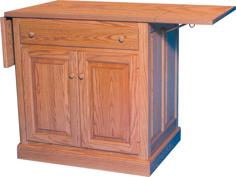 Add a drop-leaf to any kitchen island