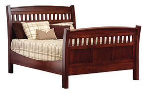 high beds custom beds king size sleigh bed with mattress Amish furniture Pittsburgh queen bed king bed california king bed wooden bed