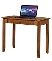 Nelson's Economy Shaker Writing Desk | Rustic Cherry in S-14 OCS108 | 36in W x 20in D x 30in H | The Amish Home | Amish Furniture at the Pittsburgh Mills