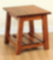 Edgewood End Table | Oak in Michaels OCS113 | 22in W x 24in D x 24in H | The Amish Home | Amish Furniture at the Pittsburgh Mills