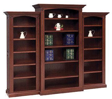 Amish-Built Bookcases