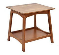 Laurel End Table | Rustic Cherry in Seely OCS104 | 22in W x 24in D x 24in H | The Amish Home | Amish Furniture at the Pittsburgh Mills