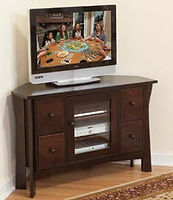 Westfield TV Stand|Brown Maple in Coffee OCS226|Three Sizes Available|The Amish Home|Amish Furniture at the Pittsburgh Mills