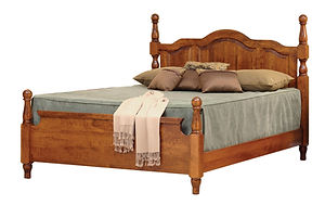 four poster bed custom beds low headboard bed frames poster bed frame Amish furniture Pittsburgh queen bed king bed california king bed wooden bed