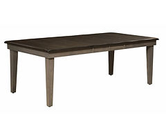 Koehler Road Dining Table | Brown Maple in Two-toned | Many Sizes Available | The Amish Home | Amish Furniture at the Pittsburgh Mills