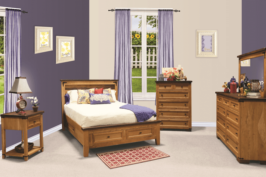 farmhouse bedroom furniture. Farmhouse Heritage Bedroom Furniture The Amish Home Gallery