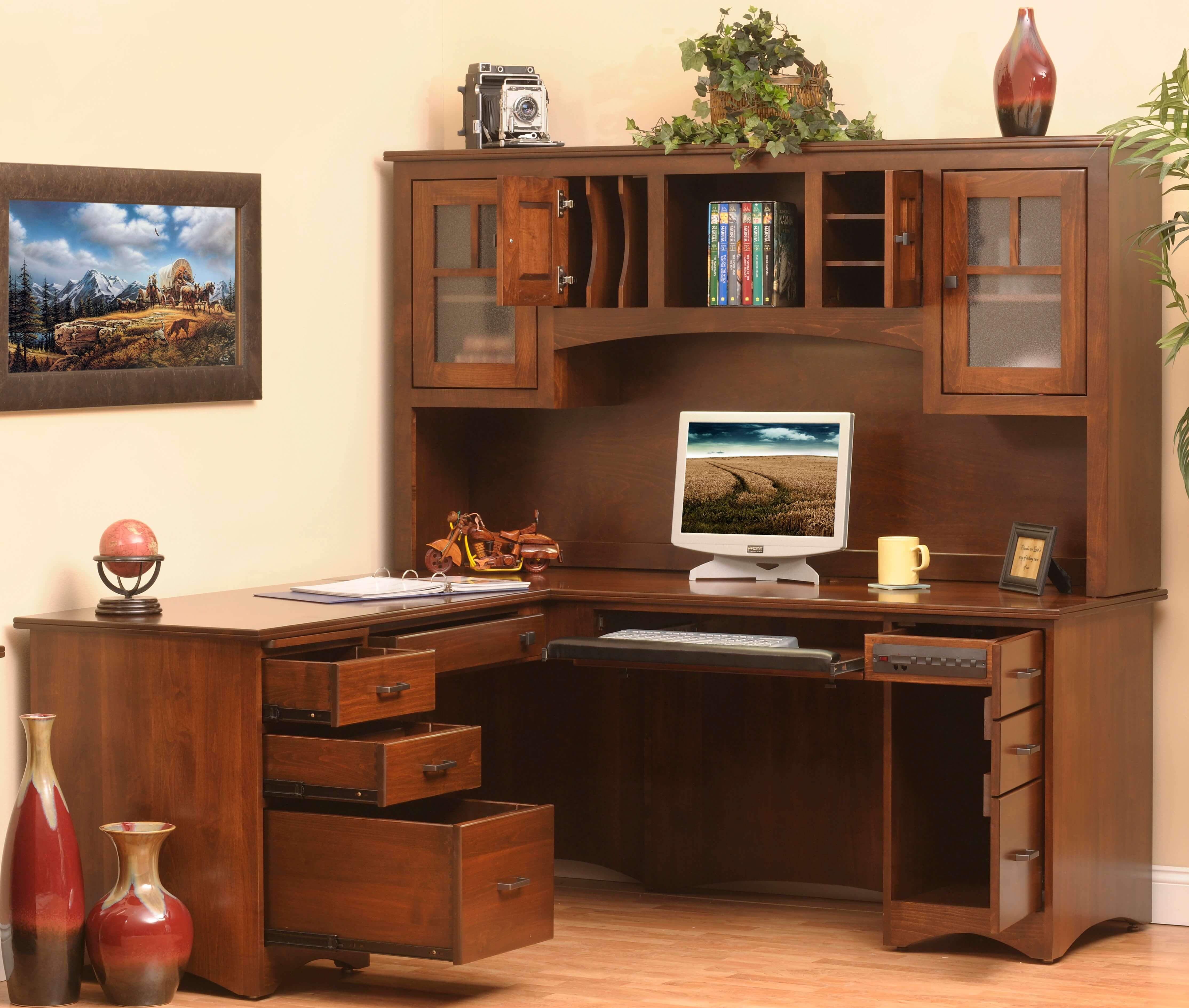 Prairie Mission L-Desk