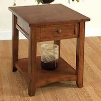 Madison End Table | Cherry in Washington OCS107 | 22in W x 24in D x 25in H | The Amish Home | Amish Furniture at the Pittsburgh Mills
