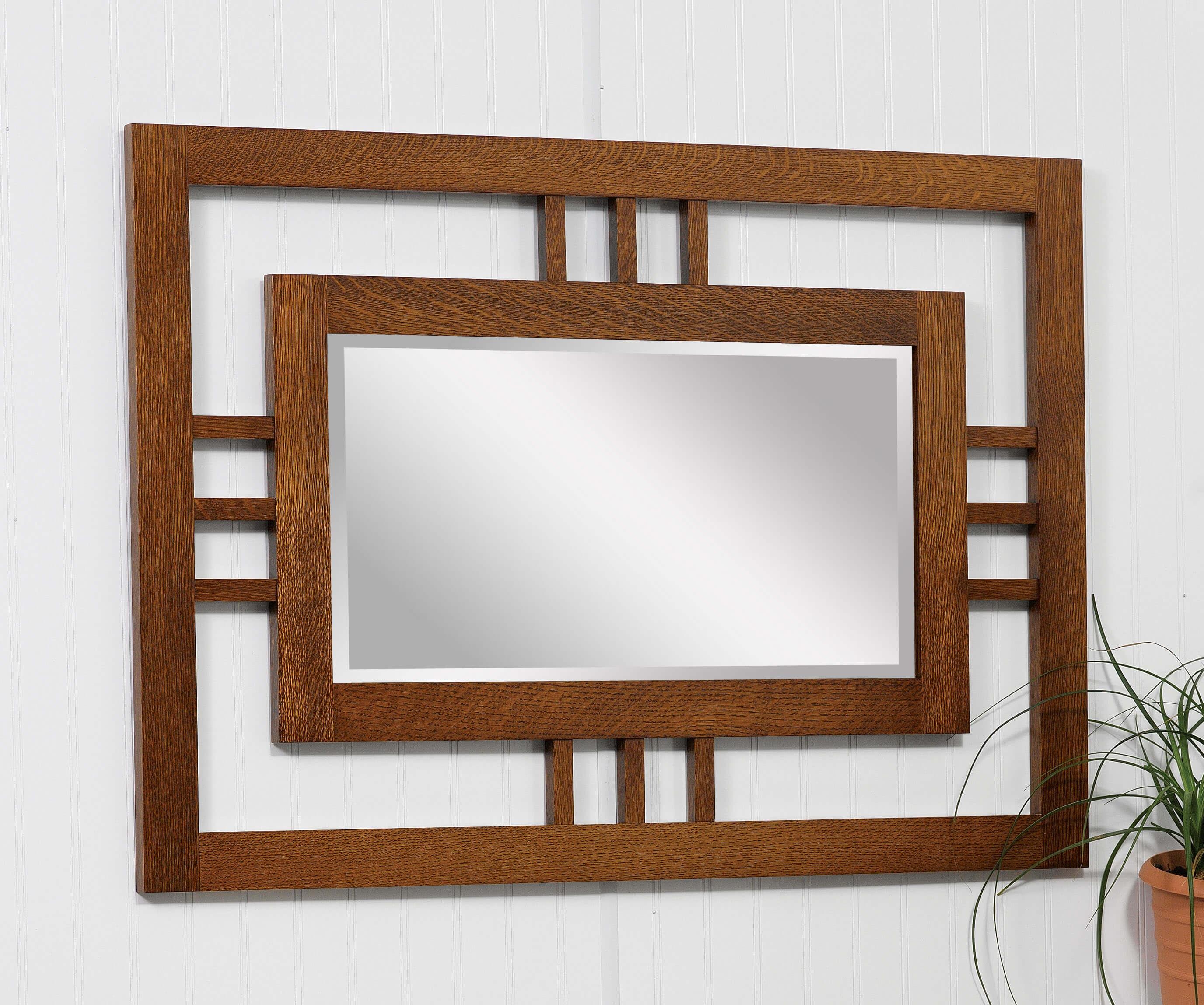 Modern Mission Wall Mirror