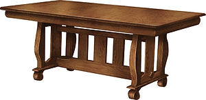 Amish furniture dining table large kitchen tables with leaves heavy duty dining room furniture Amish furniture Pittsburgh Mills