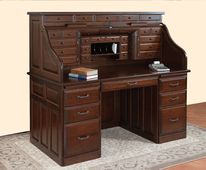 Deluxe Roll Top Desk