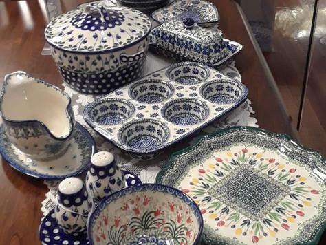 New Polish Pottery Now on Display