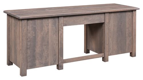 Barn Floor Double Pedestal Desk