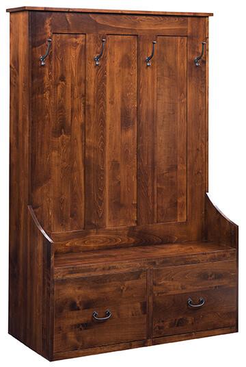 Sedona Hall Seat Gun Cabinet