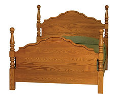 four poster bed custom beds queen size headboard and frame poster bed frame Amish furniture Pittsburgh queen bed king bed california king bed