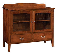 Millcreek Sideboard|Brown Maple in Boston OCS111|43in W x 16 1/2in D x 35in H|The Amish Home|Amish Furniture at the Pittsburgh Mills
