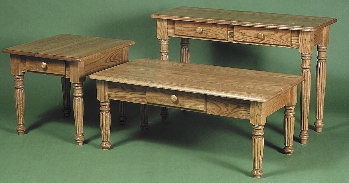 Colonial Fluted Table Group