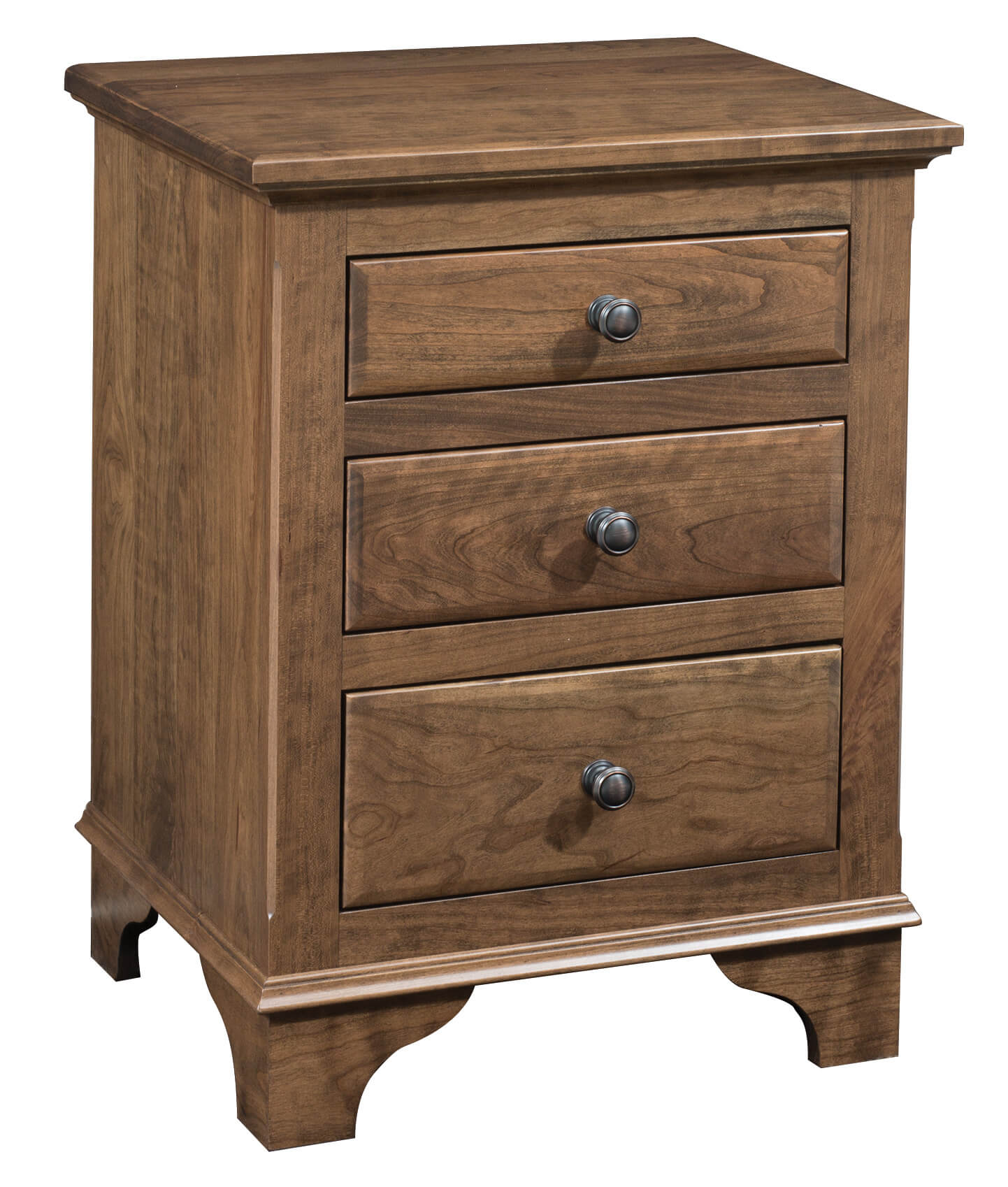Choices 3 Drawer Nightstand