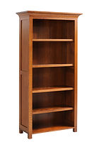 Coventry Mission Bookcase | Quartersawn White Oak in Michaels OCS113 | Many Sizes Available | The Amish Home | Amish Furniture at the Pittsburgh Mills