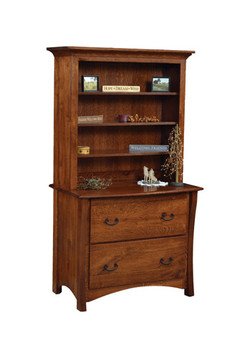 Master Lateral File Cabinet with Boo