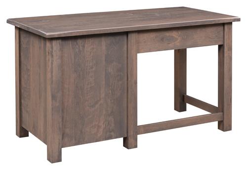 Barn Floor Single Pedestal Desk