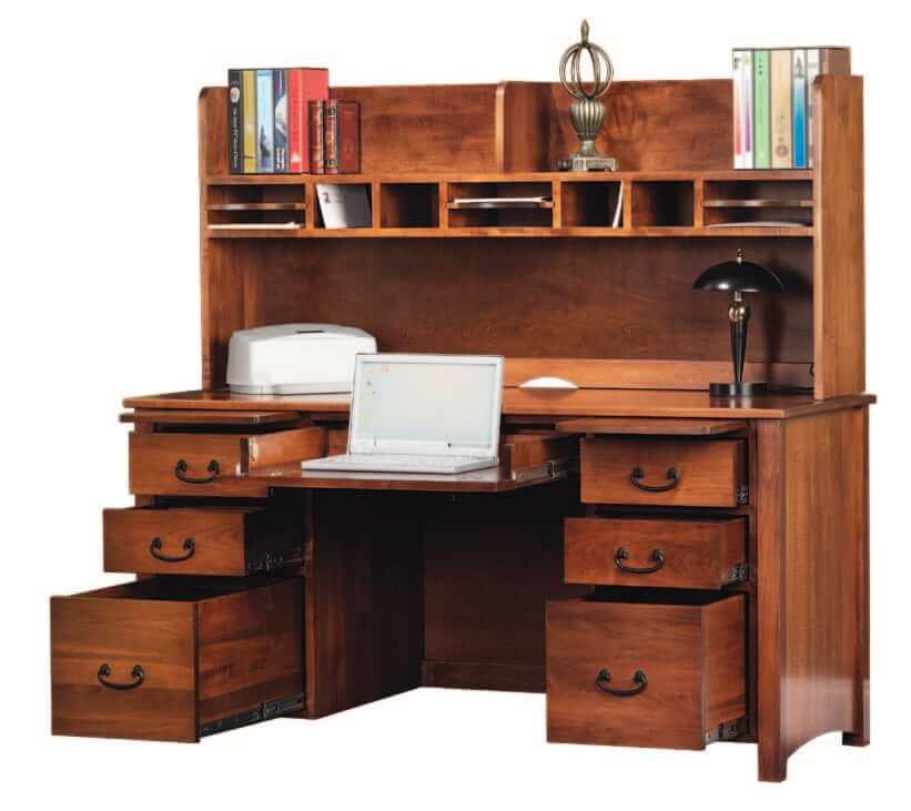 Rivertowne Desk with Hutch