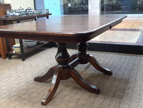 Denver Pedestal Dining Room Table