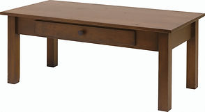 Creek Side Coffee Table|Brown Maple in Rich Tobacco OCS228|45in W x 22in D x 19in H|The Amish Home|Amish Furniture at the Pittsburgh Mills
