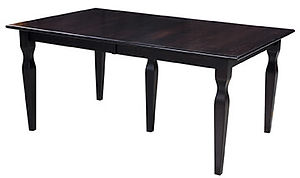 American furniture dining tables with leaf storage in table dining room table and chairs Amish furniture Pittsburgh Mills