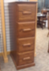 Country Home 4-Drawer File Cabinet - Floor Model Special