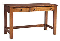 Rivertowne Desk | Quartersawn White Oak in Michaels OCS113 | 48in W x 24in D x 30 1/4in H | The Amish Home | Amish Furniture at the Pittsburgh Mills