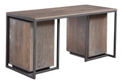 Capri Desk with Under Desk Cabinets