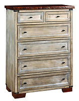 Farmhouse Chest of Drawers|Reclaimed Barn Oak in Asbury OCS117|39in W x 20in D x 52 1/2in H|The Amish Home|Hardwood Furniture at the Pittsburgh Mills
