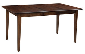 Harrison Dining Table | Brown Maple in Asbury OCS117 | Many Sizes Available | The Amish Home | Amish Furniture at the Pittsburgh Mills