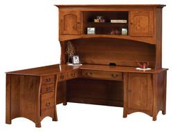 Master L-Desk with Hutch