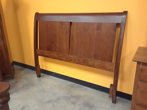 5th Avenue Queen Headboard - $595|Rustic Cherry in MichaelsOCS113|The Amish Home|Amish Furniture at the Pittsburgh Mills