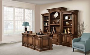 Montereau Office Furniture Collection|Solid Brown Maple in Rock Tavern|The Amish Home|Amish Furniture at the Pittsburgh Mills