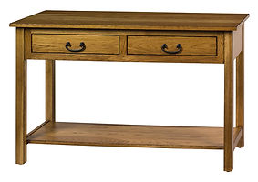 New Brunswich Sofa Table|Oak in Provincial OCS112|48in W x 20in D x 29in H|The Amish Home|Amish Furniture at the Pittsburgh Mills