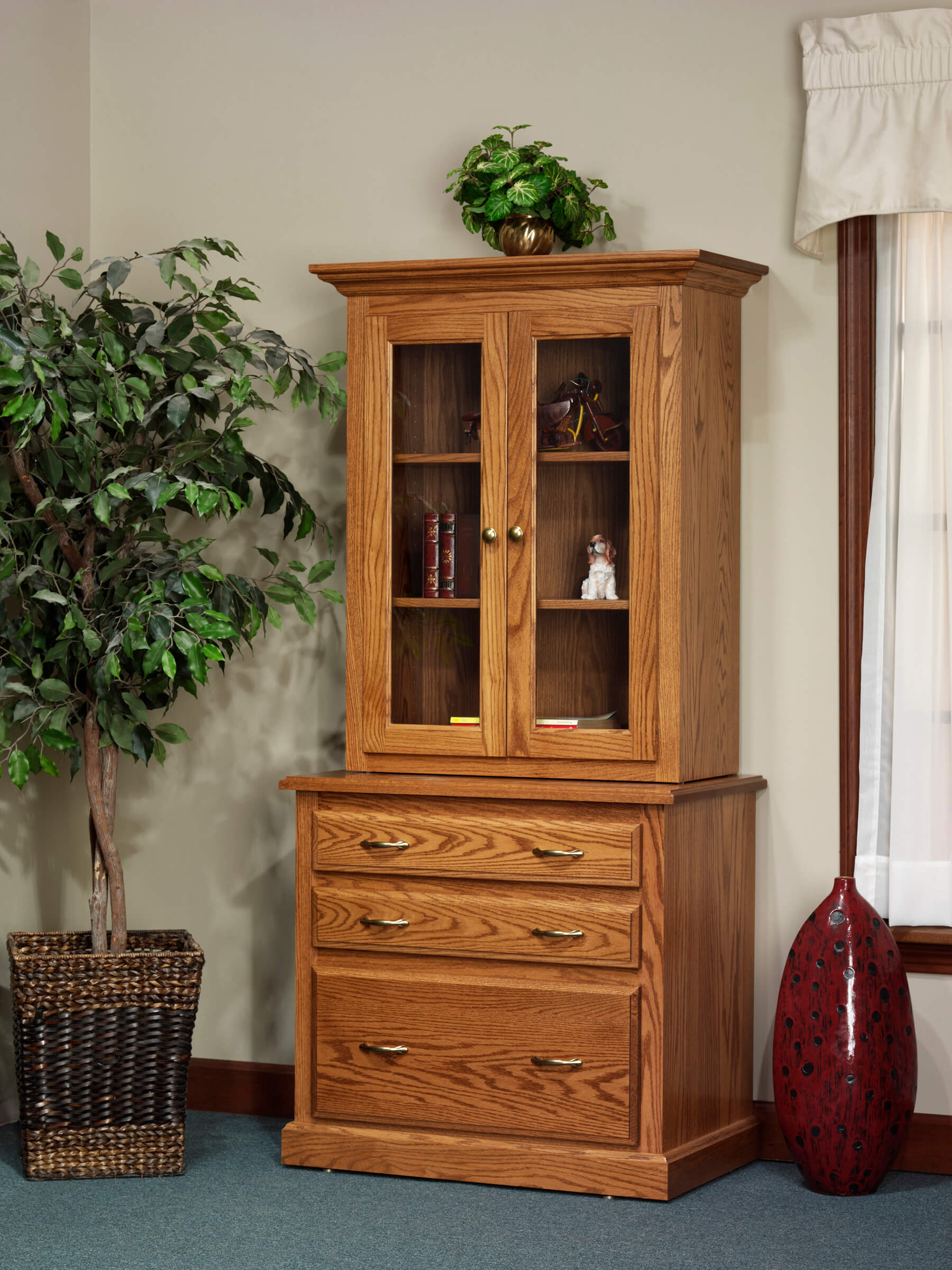 Highland Cabinet with Optional Hutch