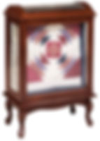 Medium Quilt Case|Cherry in Washington OCS107|27 1/2in W x 15in D x 40 3/4in H|The Amish Home|Hardwood Furniture at the Pittsburgh Mills